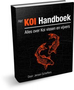 Het boek alles over uw koi vissen
